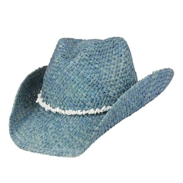Beach & Resort Cowboy Western Style: Maize with Stone Hat Band