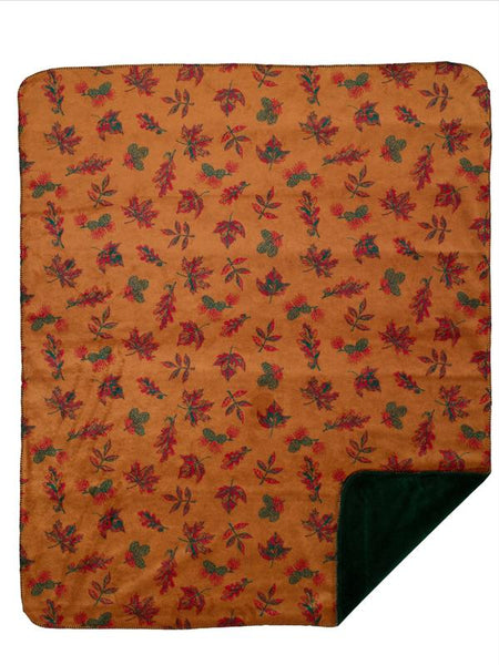 Denali Blankets Falling Leaves Throw Blanket Front