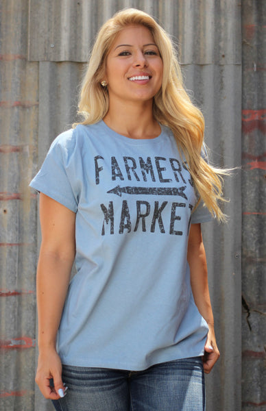 Original Cowgirl Clothing T-Shirt Farmer's Market