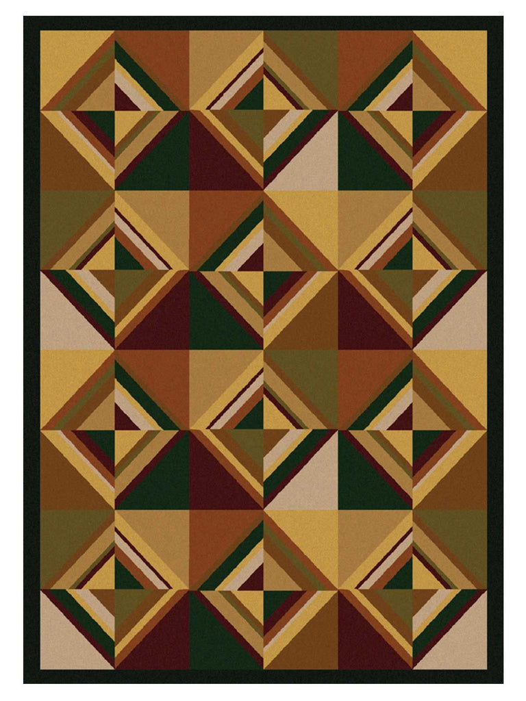 American Dakota Folk Lore Area Rugs