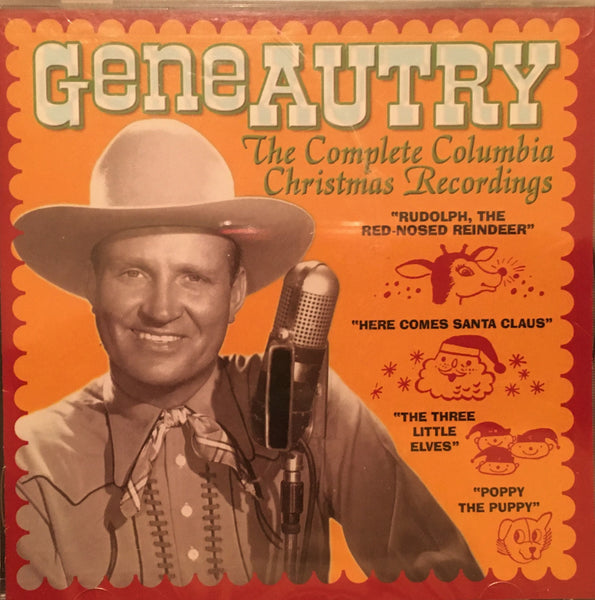 CD Gene Autry The Complete Columbia Christmas Recordings