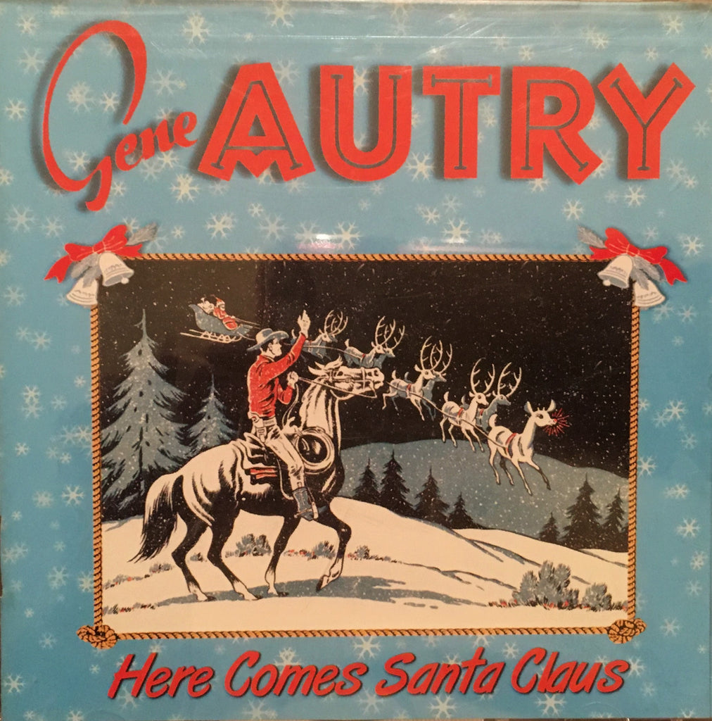 CD Gene Autry Here Comes Santa Claus