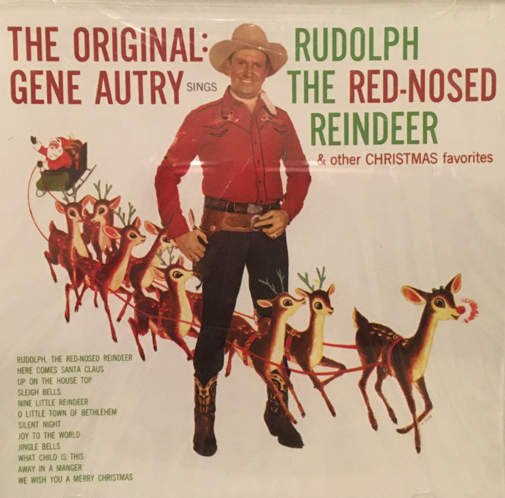 CD The Original: Gene Autry Sings Rudolph The Red-Nosed Reindeer