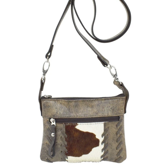 American West Pendleton Pony Crossbody Hip Bag Charcoal