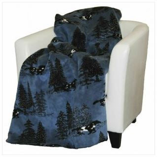 Denali Blankets Horse Flight Throw Blanket on Chair