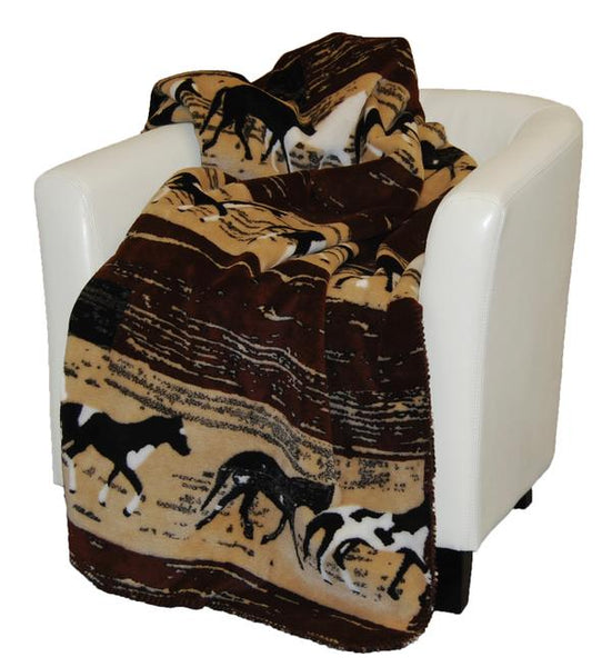Denali Blankets Horses Throw Blanket Front