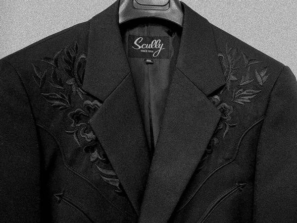 Fabric Collection Jacket Scully Men S Western Blazer