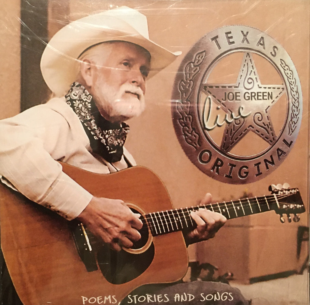 CD Texas Original Live by Joe Green