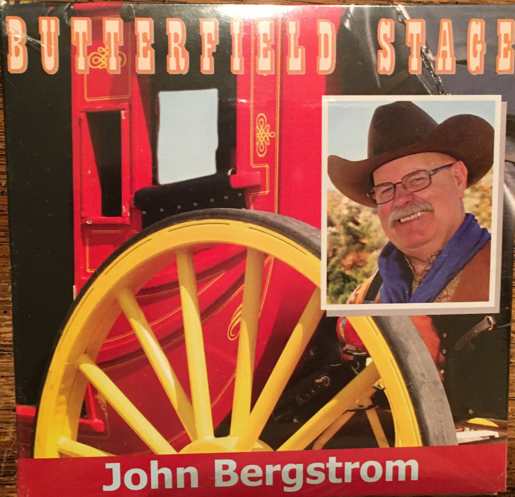 CD  John Bergstrom: Butterfield Stage