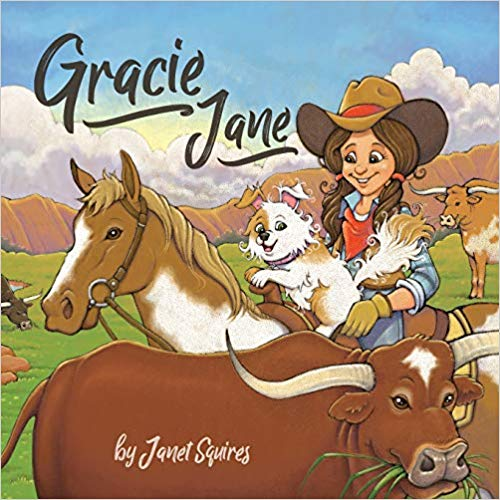 Children's Book Gracie Jane by Janet Squires