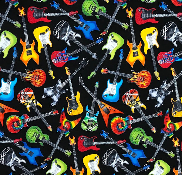 Rockmount Ranch Wear Bandana Electric Guitars #174233
