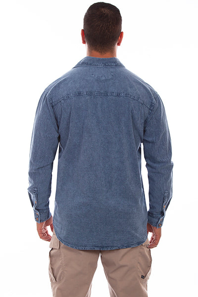 Farthest Point Collection The Mesa Lgiht Washed Denim Front
