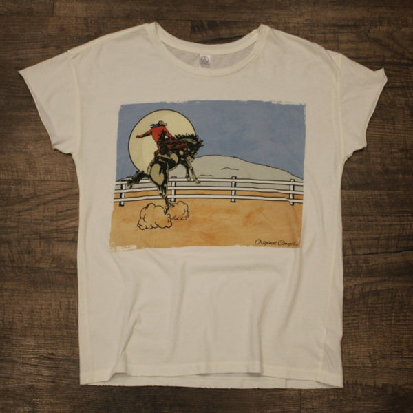 Original Cowboy Clothing Ladies' T-Shirt Moonlight Cowboy
