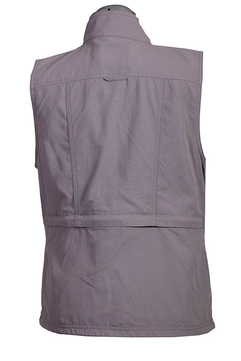 Farthest Point Collection Multi Pocket Ladies' Vest Silver Back #6262
