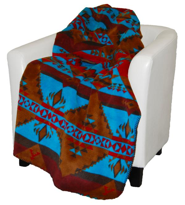 Denali Blankets Native Journey Throw Blanket Front on Chair