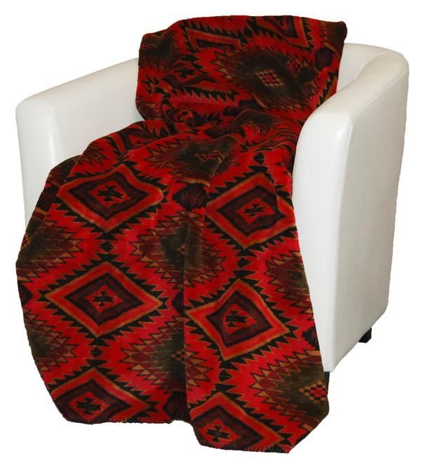Denali Blankets Navaho Wind Throw Blanket on Chair