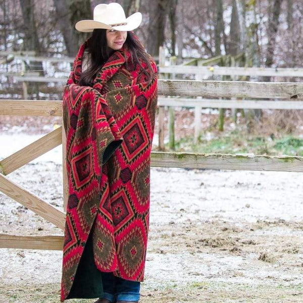 Denali Blankets Navaho Wind Throw Blanket Front