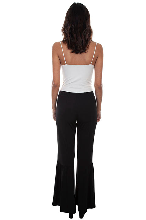 Scully Ladies' Honey Creek Bell Extra Wide Bell Bottom Pant Back