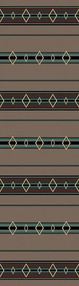 American Dakota Old Timer Area Rug Runner