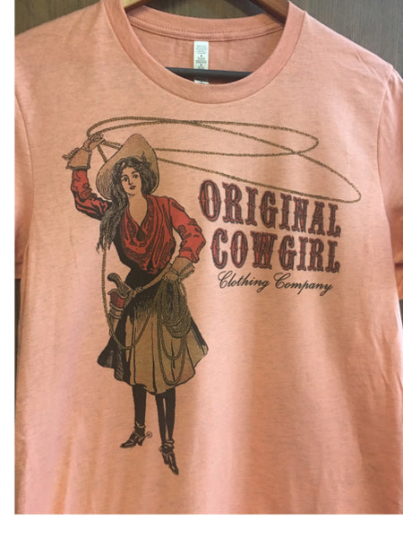 Original Cowgirl Clothing Ladies' T-Shirt Vintage Original Cowgirl