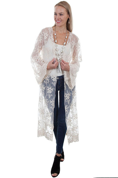 Women's Honey Creek Collection Accessory: Lace Long Sleeve Duster