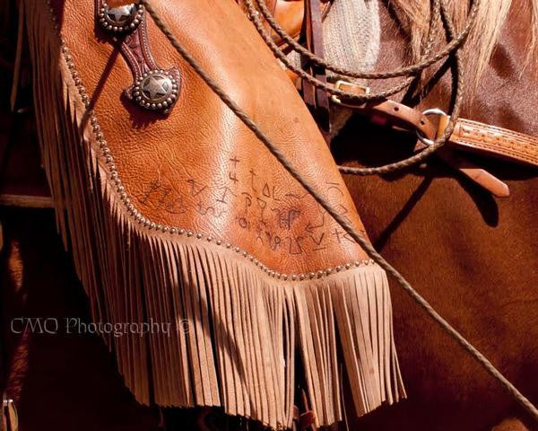 "Fine Art Print by CMQ Photography: ""Branded"""