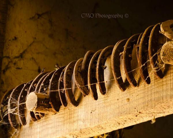 Fine Art Print by CMQ Photography: Well Worn Shoes