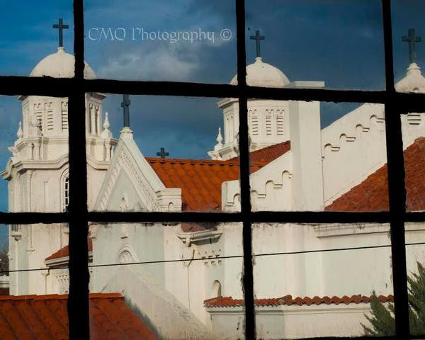Fine Art Print by CMQ Photography: St. Paul's Catholic Church, Winnemucca, NV