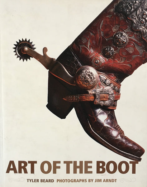 Art Of The Boot by Tyler Beard Book Cover