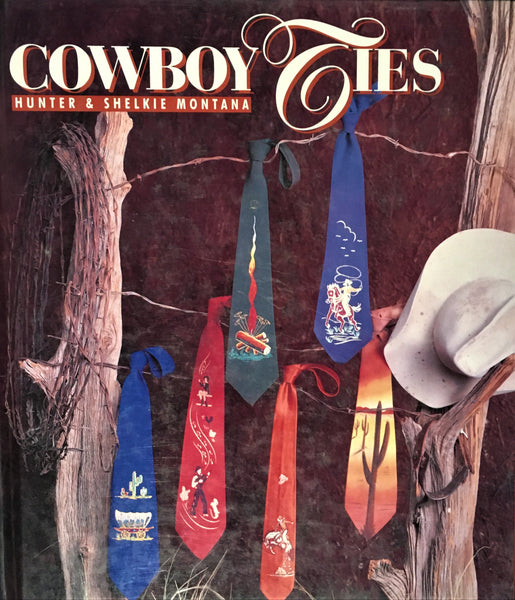Cowboy Ties by Hunter & Shelkie Montana Book Cover