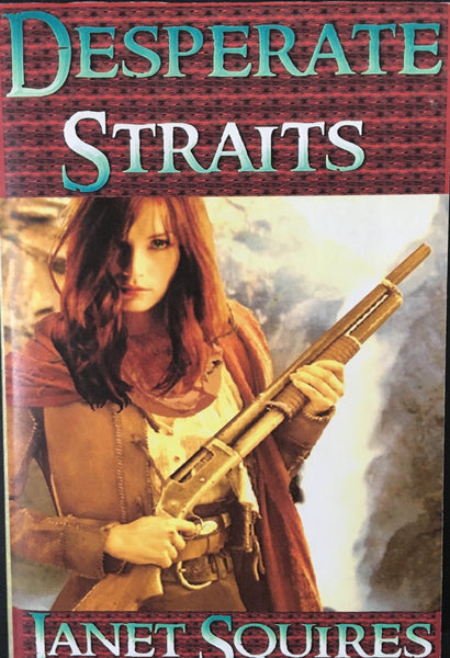 Desperate Straits by Janet Squires Book Cover