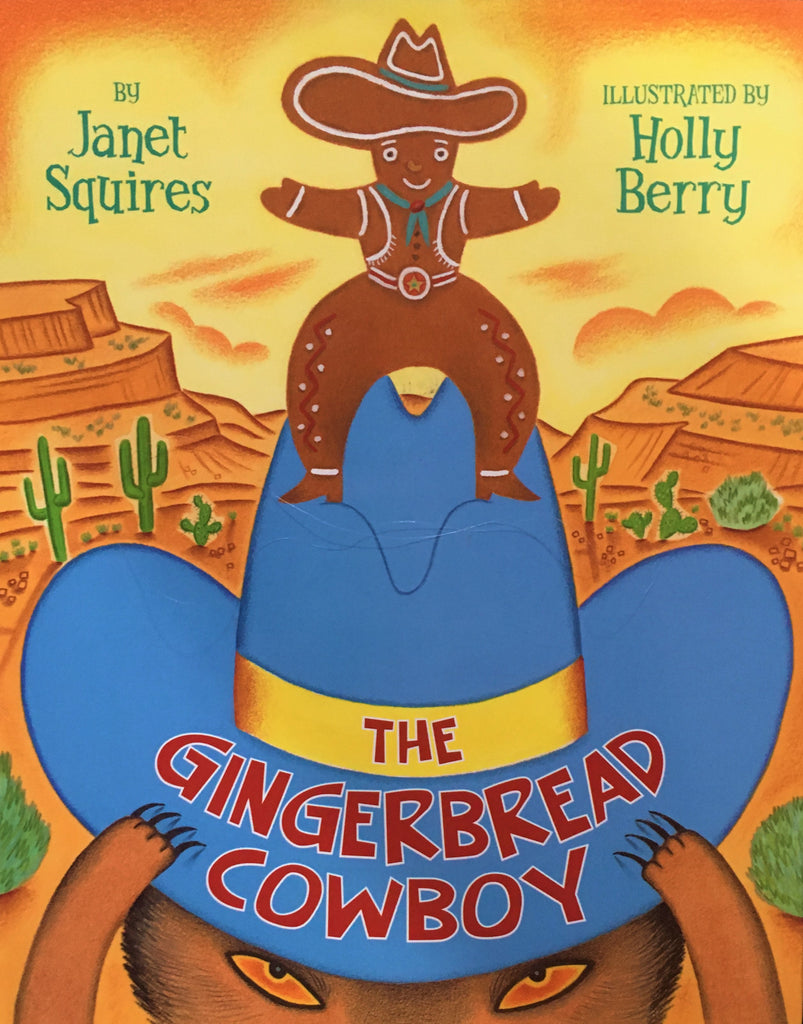 The Gingerbread Cowboy by Janet Squires Cover Children's Book