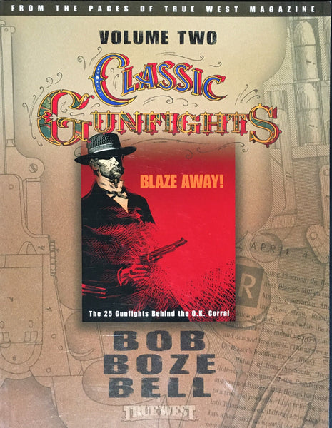 Classic Gunfights Vol II by Bob Boze Bell Book Cover