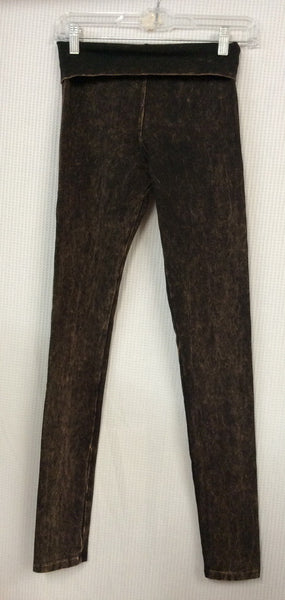 Designs by Pat Distressed Brown Legging