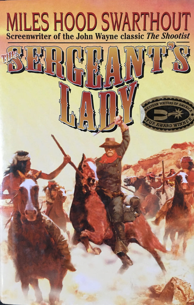 Sergeant's Lady by Miles Hood Swarthout Book Cover