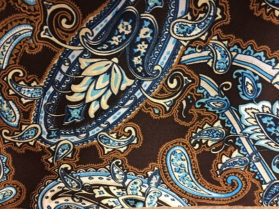 Cowboy Images Accessory: Scarf Paisley Arbuckle Detail