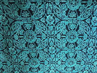 Cowboy Images Accessory: Scarf Teal and Chocolate Matrix