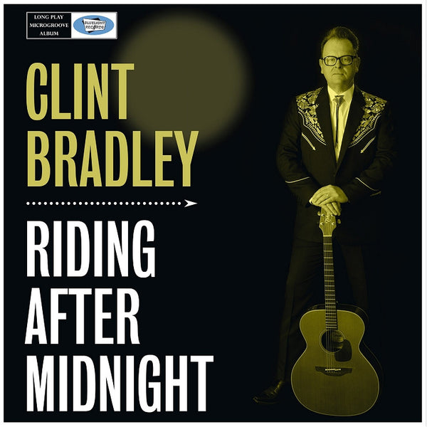 CD Cover Clint Bradley Riding After Midnight