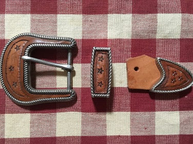 Buckle Ranger Set with Stars