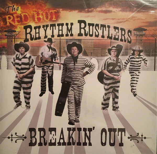 CD Breakin' Out by The Red Hot Rhythm Rustlers