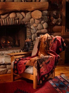 Denali Blankets Roaming Buffalo Throw Blanket Front