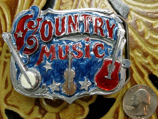 Rockmount Ranch Wear Accessory Trophy Buckle Country Music