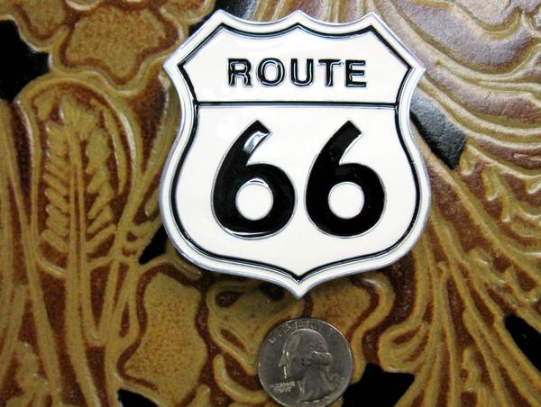 Rockmount Ranch Wear Accessory Trophy Buckle Route 66