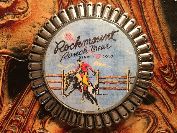 Rockmount Ranch Wear Accessory Trophy Buckle Signature Bronc