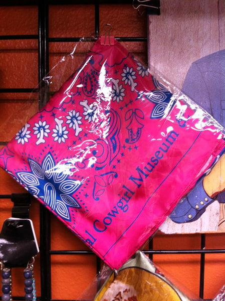 Rockmount Ranch Wear Scarf National Cowgirl Museum & Hall of Fame Pink