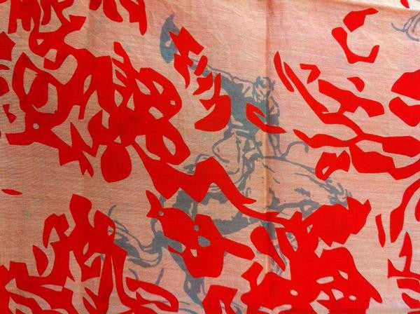 "Two Rode Together Wardrobe Bandana ""The Sacketts"" Details"