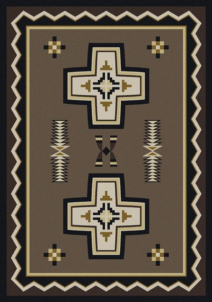 American Dakota Rugs Saint Cross Rectangles