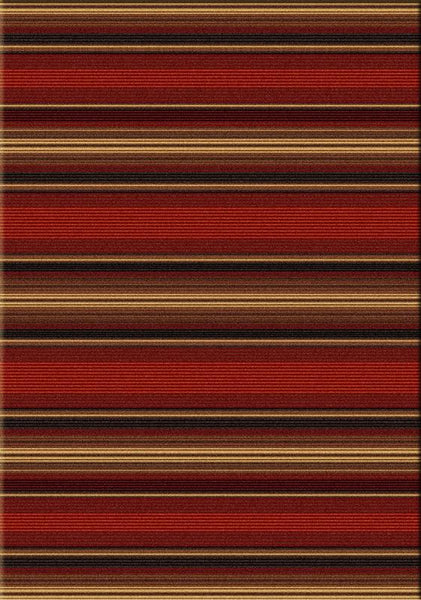 American Dakota Santa Fe Stripe Rug Rectangle