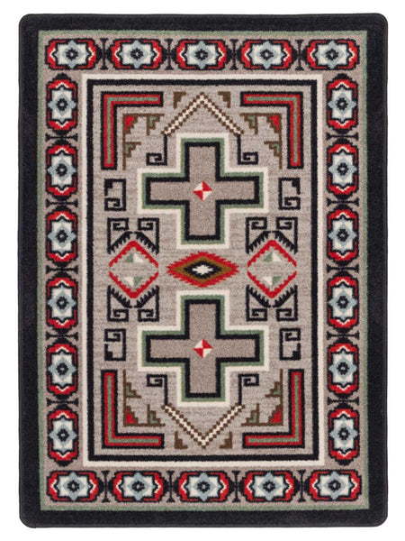 American Dakota Saw Tooth Rug
