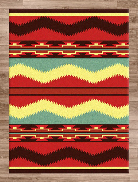 American Dakota Rug Scout Fiesta Rectangle